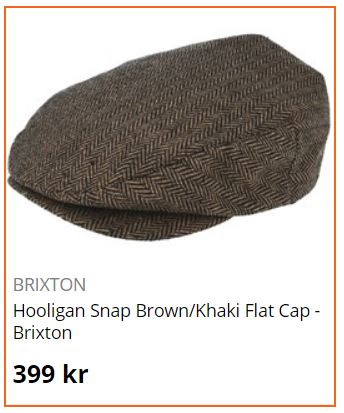 flatcap brixton holigan snap